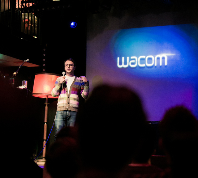 Anton previews Wacom work