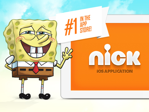 Nick App Ranks #1 In Free iPad Entertainment Apps