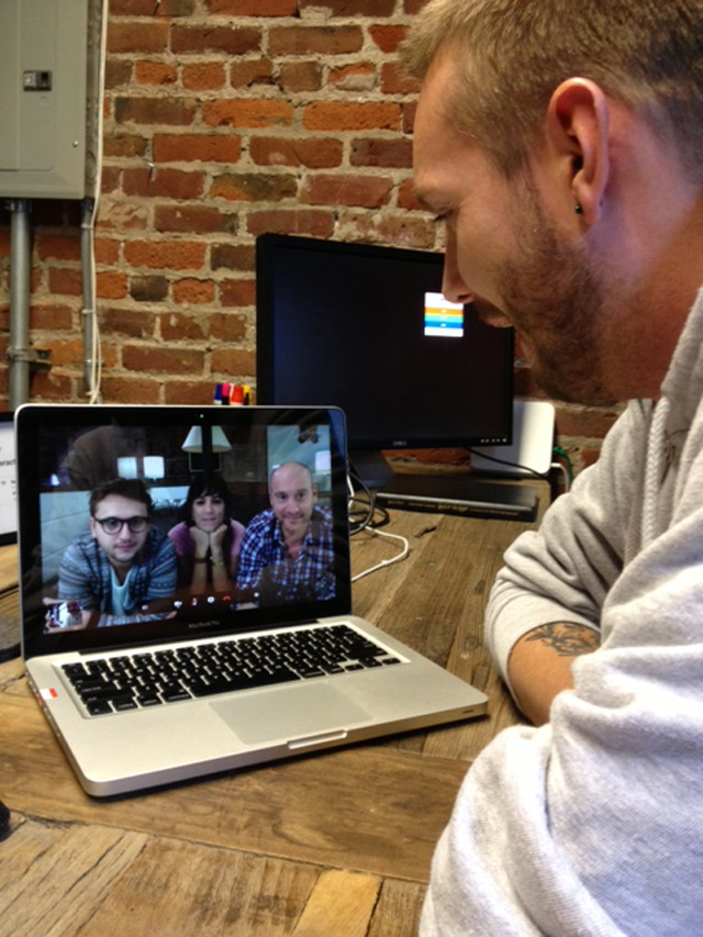 Collaboration over Skype
